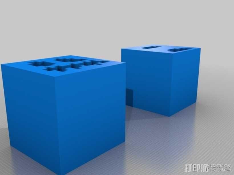 Minecraft 造型摆件 3D模型  图1