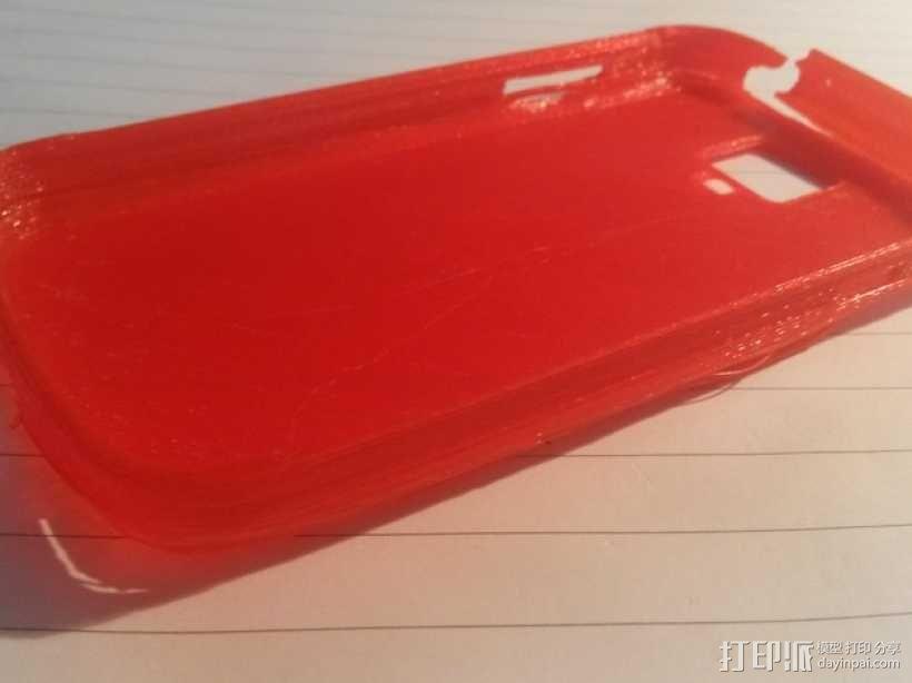 Samsung Galaxy S4 手机壳 3D模型  图1