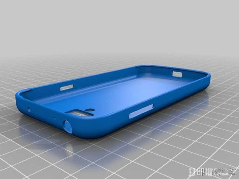 Samsung Galaxy S4 手机壳 3D模型  图3