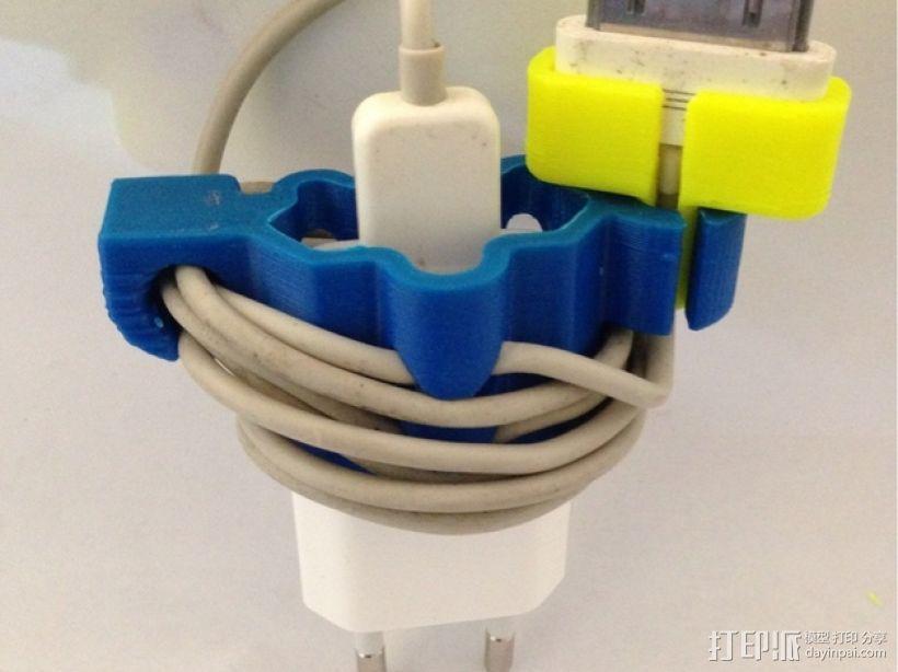 充电器绕线器 3D模型  图3