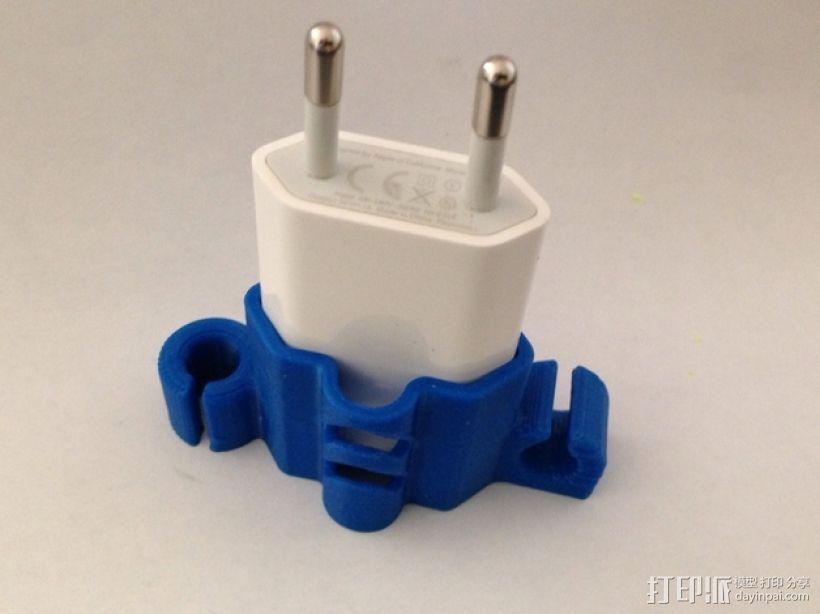 充电器绕线器 3D模型  图5
