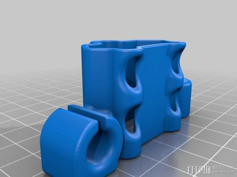 充电器绕线器 3D模型  图8