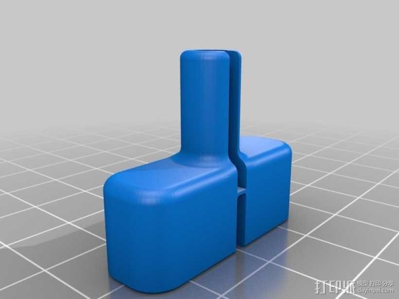充电器绕线器 3D模型  图7