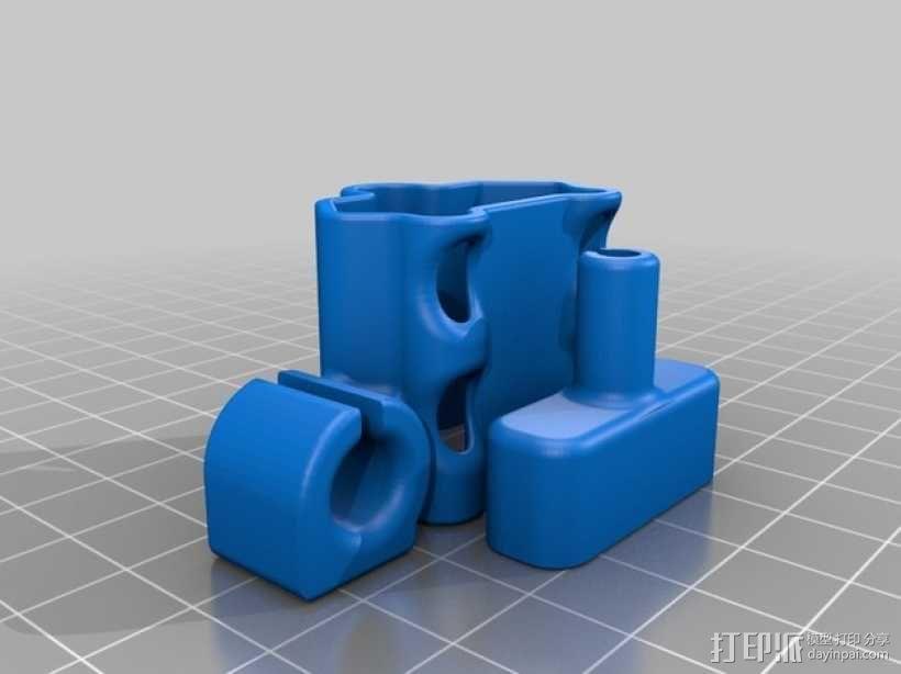 充电器绕线器 3D模型  图9