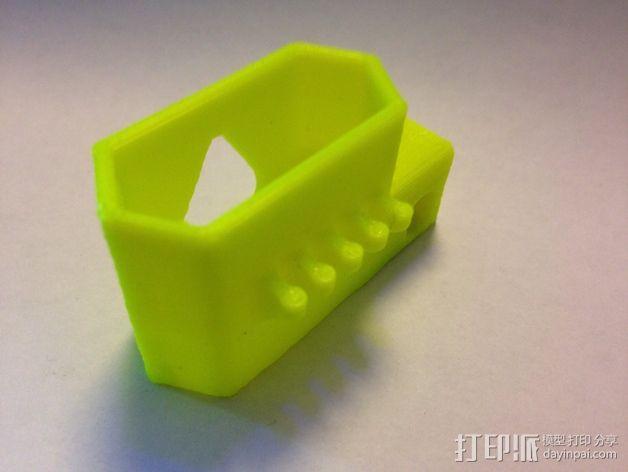 苹果锯齿状绕线器 3D模型  图4