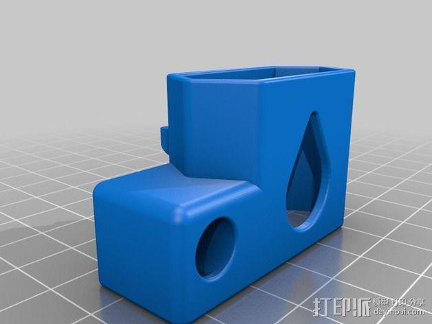 苹果锯齿状绕线器 3D模型  图6