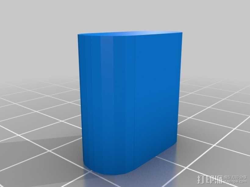 U盘外壳 3D模型  图3