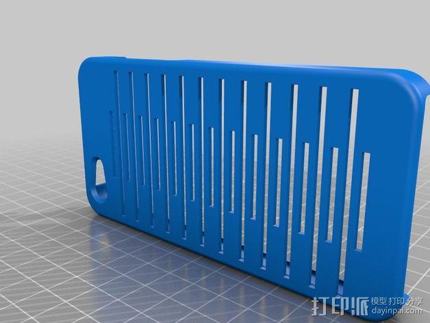 iPhone 5C壳子 3D模型  图1