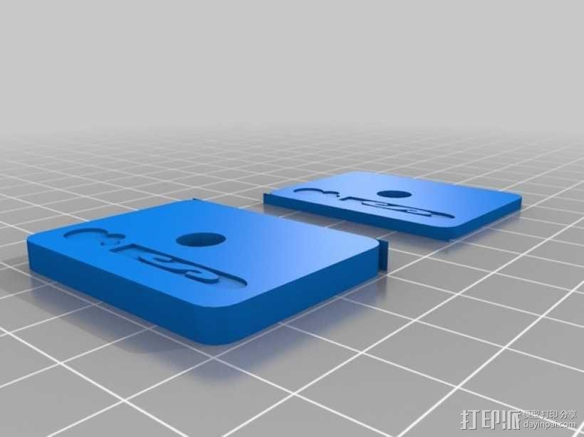 适配器 3D模型  图7