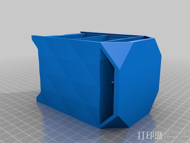 迷你蓝牙扬声器 3D模型  图2