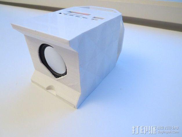 迷你蓝牙扬声器 3D模型  图5