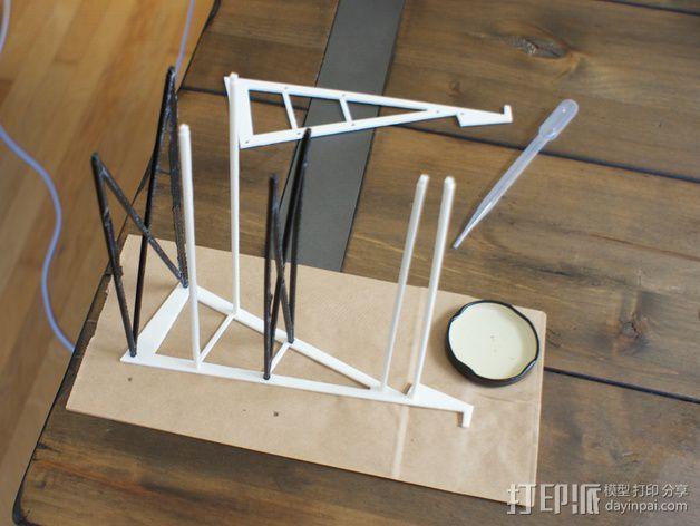 平板画架 3D模型  图6