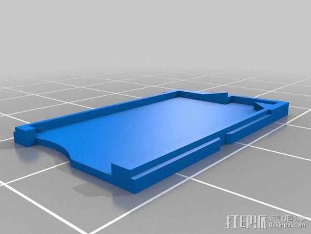 托盘 3D模型  图1