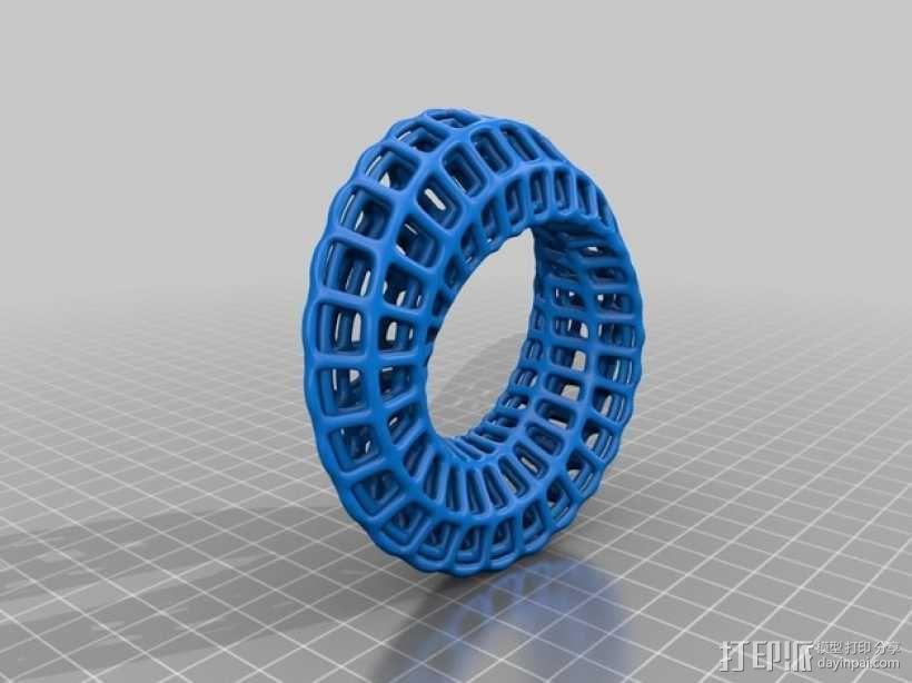 莫比乌斯指环 3D模型  图2
