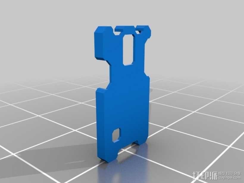 带扣Galaxy S5手机壳 3D模型  图7