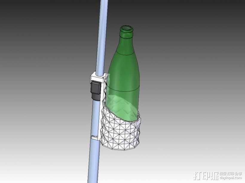杯架 3D模型  图1