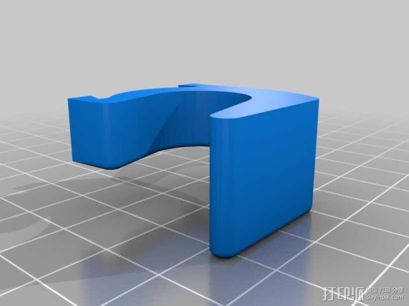 杯架 3D模型  图3