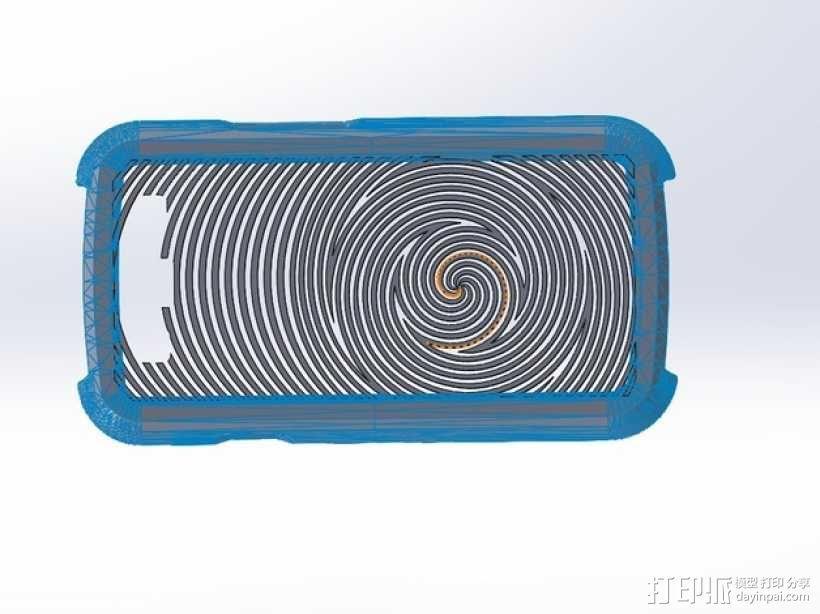 Samsung Galaxy S3手机壳 3D模型  图1
