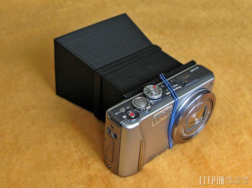 照相机自制镜头 3D模型  图1