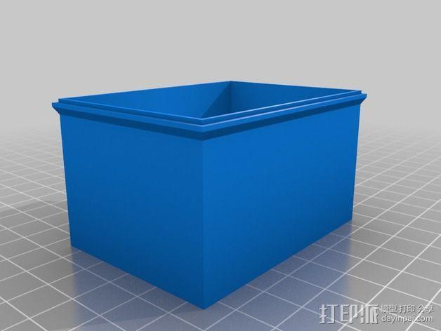 照相机自制镜头 3D模型  图3