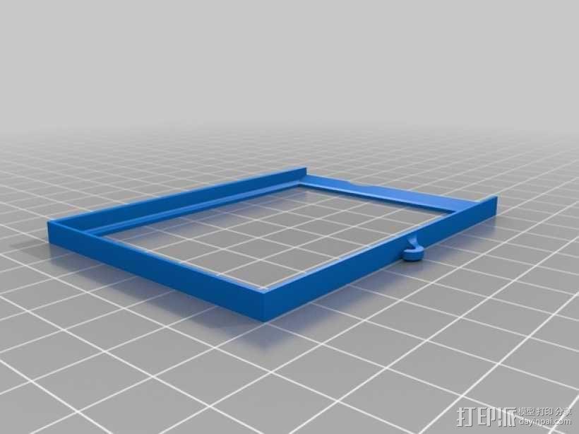 照相机自制镜头 3D模型  图2