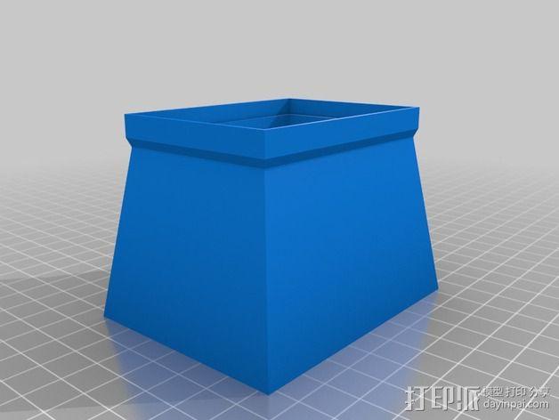 照相机自制镜头 3D模型  图4