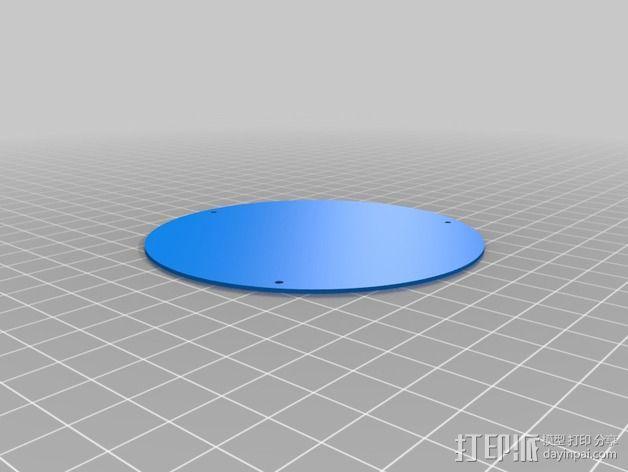 小型电扇 3D模型  图3