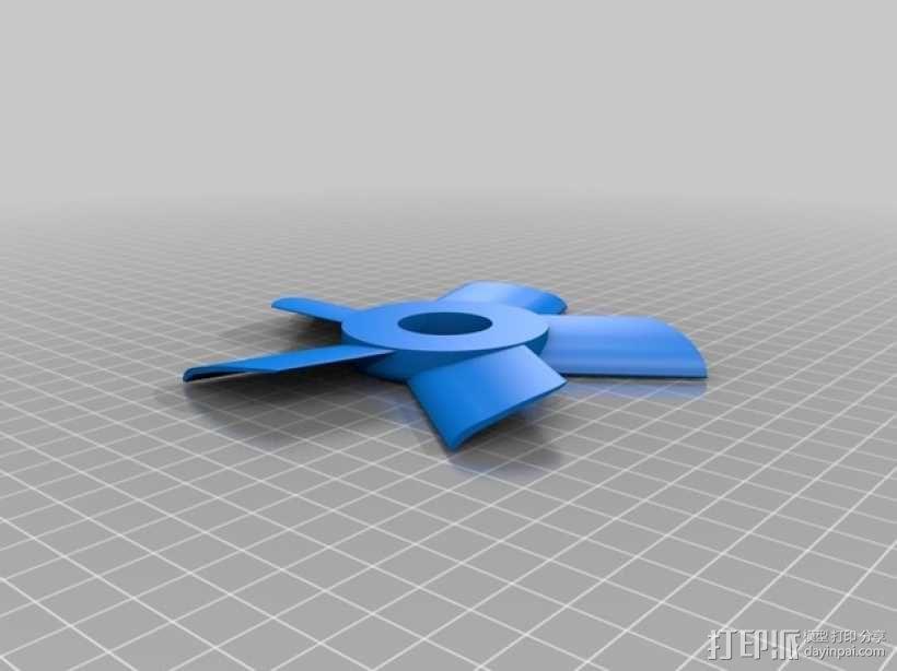 小型电扇 3D模型  图6