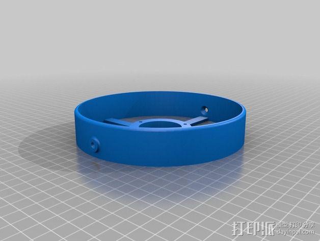小型电扇 3D模型  图4