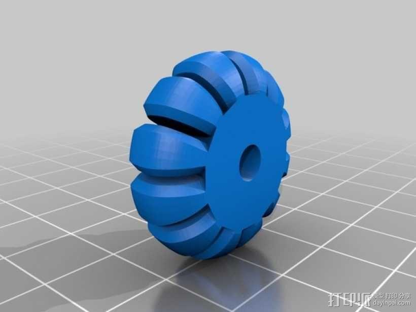 小型电扇 3D模型  图7