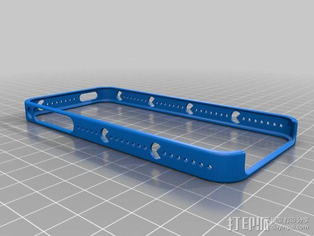 iPhone 5S手机壳 3D模型  图1