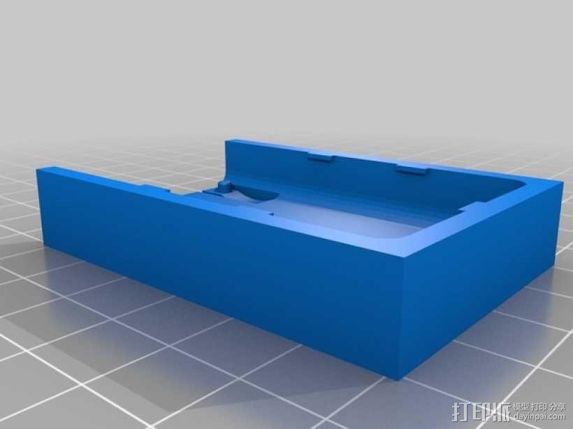 莫比乌斯保护壳 3D模型  图1