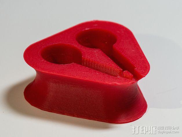 苹果耳机座 3D模型  图5