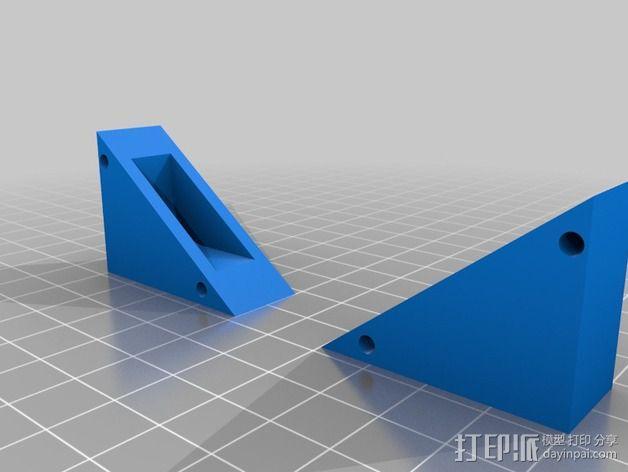 ipad壁挂 3D模型  图3