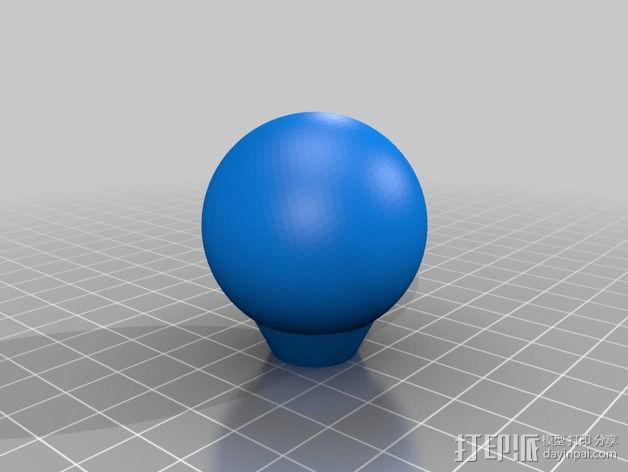 Cosmo-Bulb 3D模型  图3
