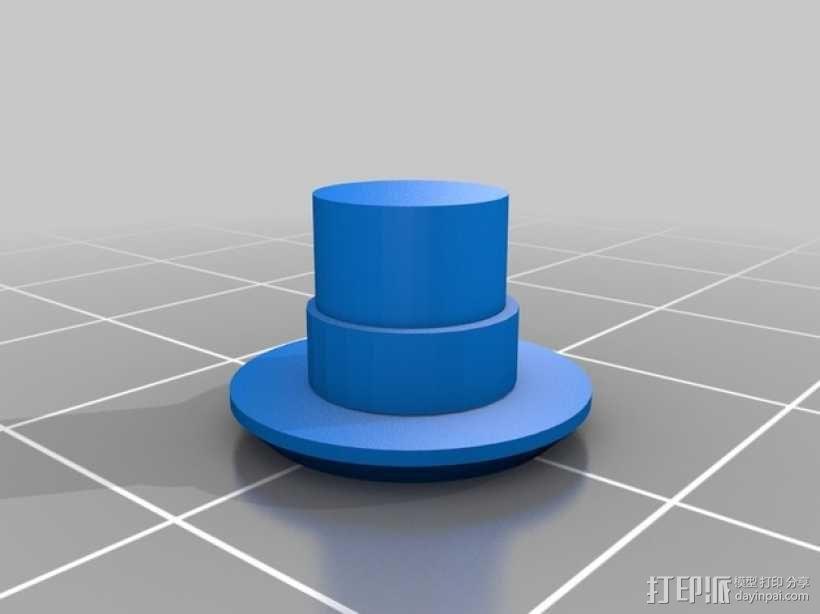 iPhone 5 gear 保护壳  3D模型  图3