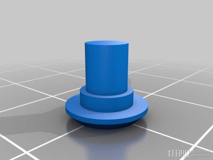iPhone 5 gear 保护壳  3D模型  图1