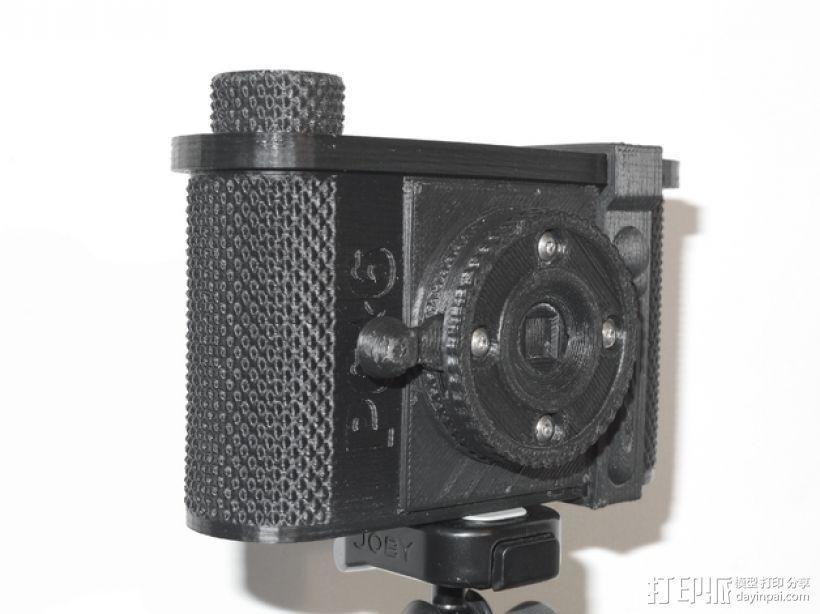 广角照相机 3D模型  图1