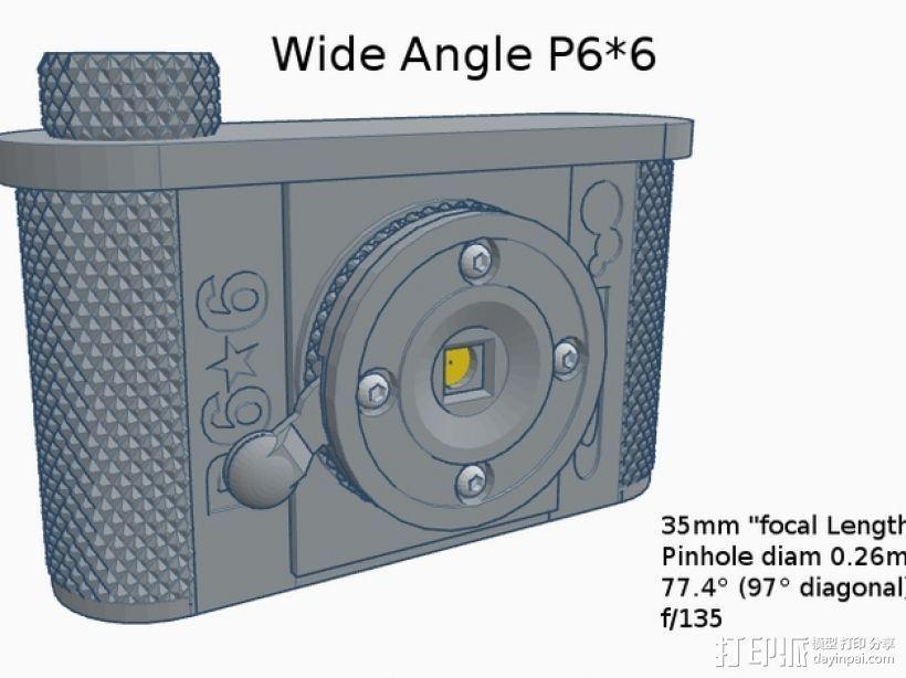 广角照相机 3D模型  图11