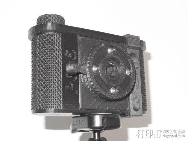 广角照相机 3D模型  图10