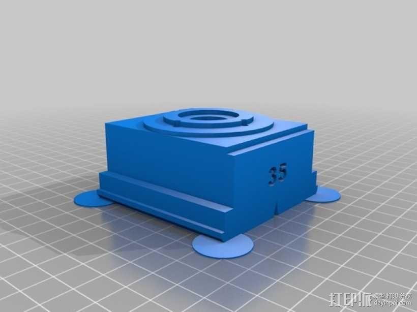 广角照相机 3D模型  图15