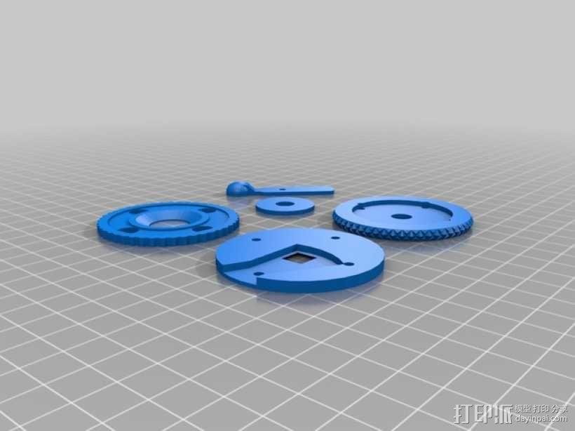 广角照相机 3D模型  图16