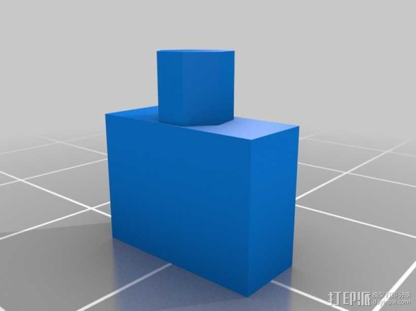 立体蓝牙接收器盒子 3D模型  图8