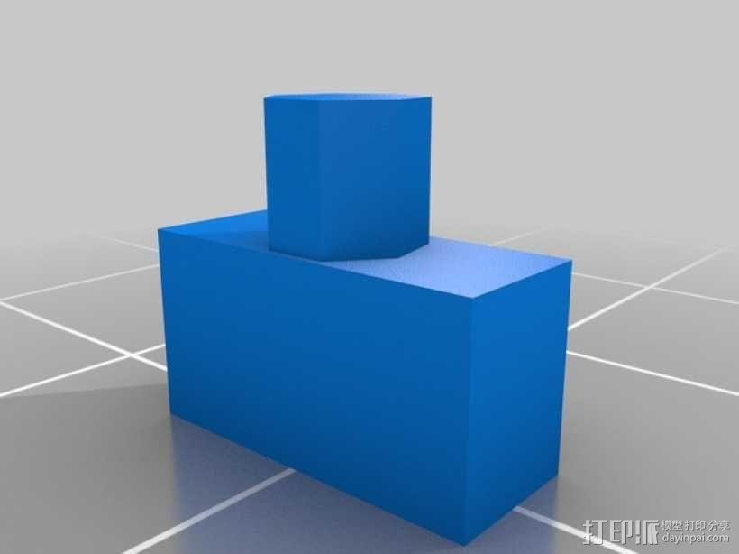 立体蓝牙接收器盒子 3D模型  图9