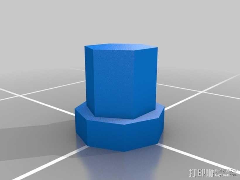 立体蓝牙接收器盒子 3D模型  图10