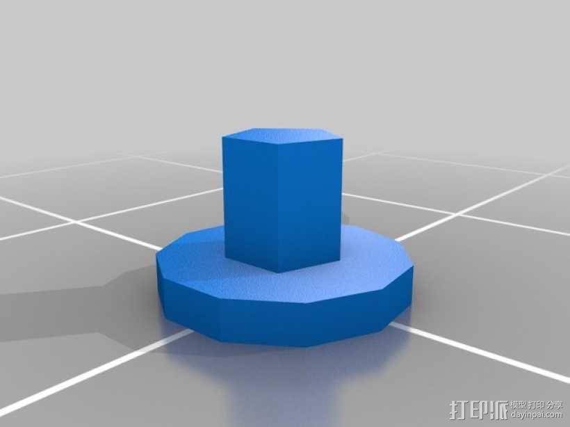 立体蓝牙接收器盒子 3D模型  图11