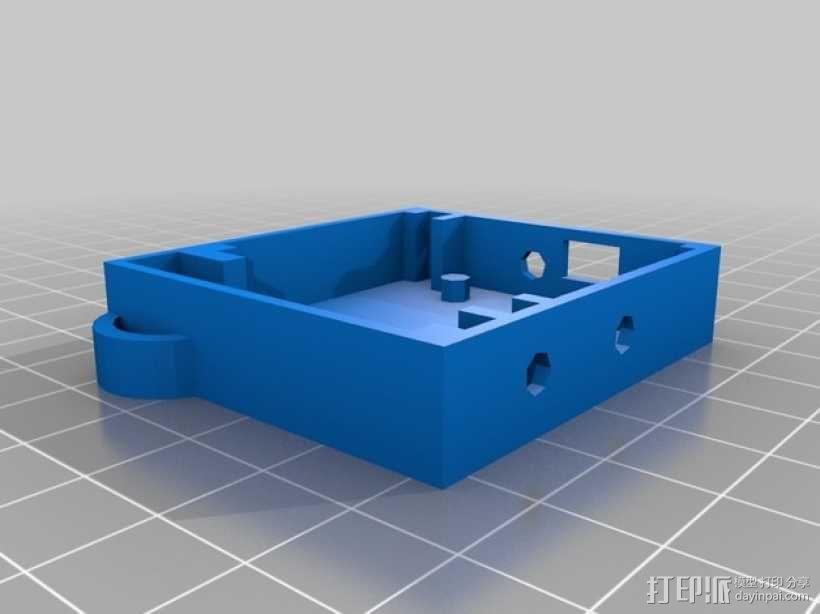 立体蓝牙接收器盒子 3D模型  图13