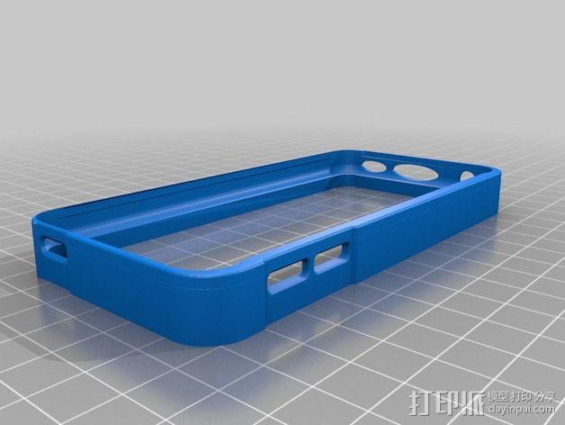 ipod5保护壳 3D模型  图1