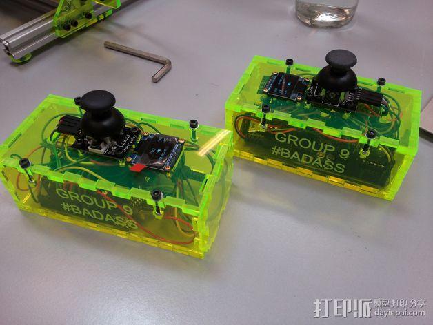 游戏控制器 3D模型  图1