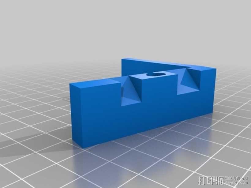 闪电样式苹果手机座 3D模型  图1